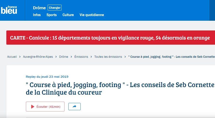Seb Cornette France Bleu LCDC
